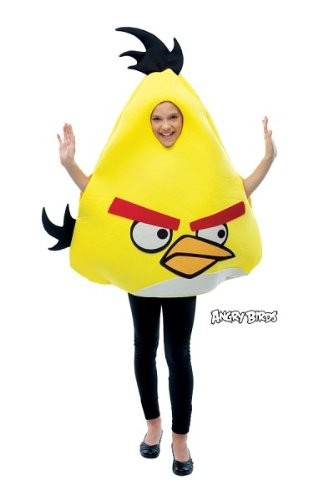 Kids Yellow Angry Bird Costume