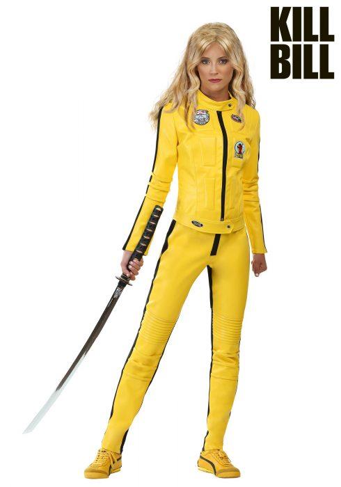 Kill Bill Beatrix Kiddo Motorcycle Suit