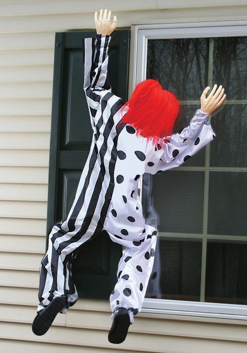 Killer Clown Window Hanging Decoration