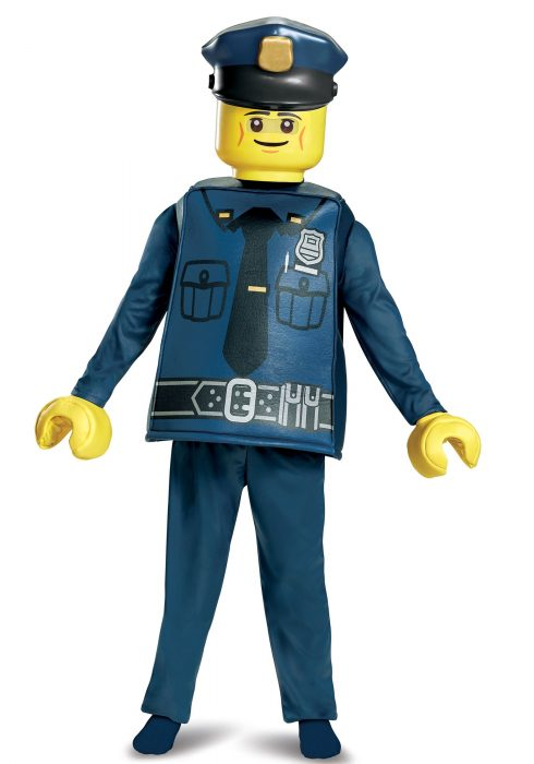 LEGO Police Officer Deluxe Boys Costume