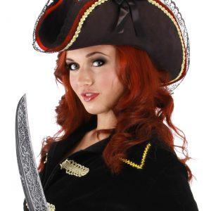 Lady Buccaneer Black Hat
