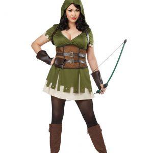 Lady Robin Hood Plus Size Women's Costume