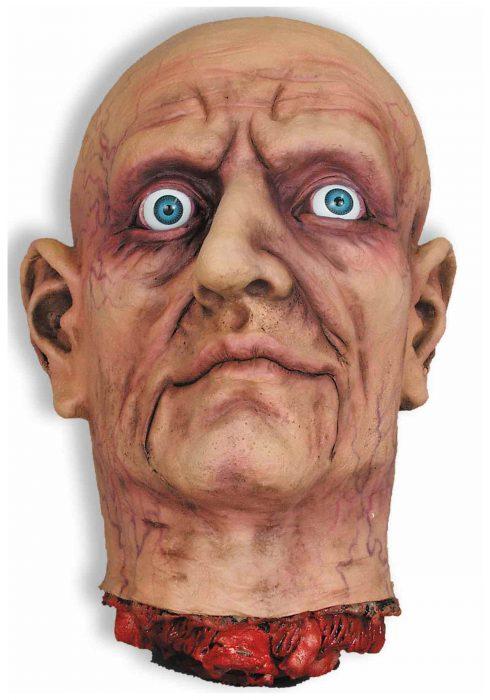 Large Open Eye Cut Off Head