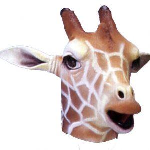 Latex Giraffe Mask