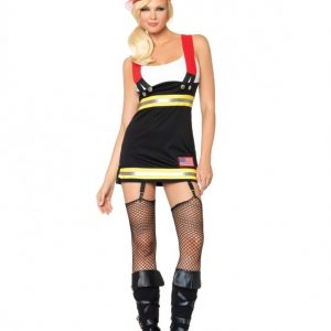Leg Avenue Backdraft Babe Costume