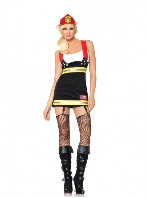 Leg Avenue Backdraft Babe Costume