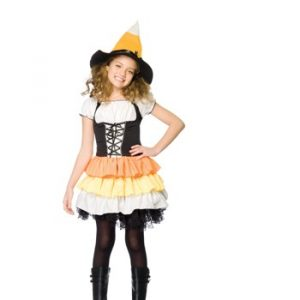 Leg Avenue Child Kandy Korn Witch Costume