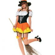 Leg Avenue Kandy Korn Witch Costume