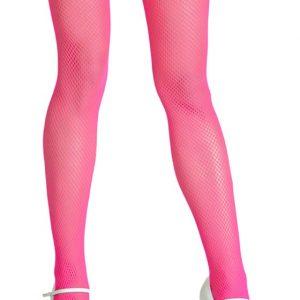 Leg Avenue Neon Pink Fishnet Stockings