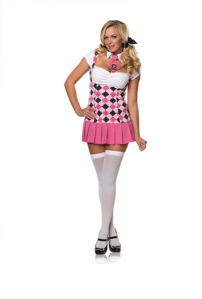 Leg Avenue Prep School Cutie Costume - Pink