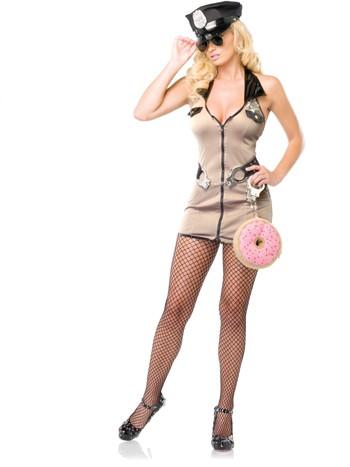 Leg Avenue Sexy Deputy Cop Costume