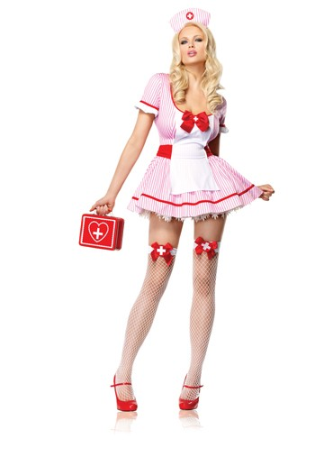 Leg Avenue Sexy Nurse Kandi Costume