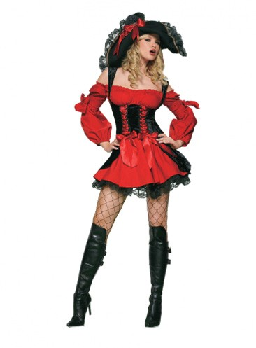 Leg Avenue Sexy Vixen Pirate Costume