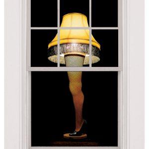 Leg Lamp Window Cling