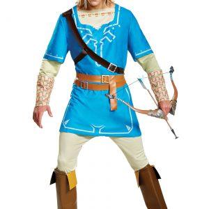 Legend of Zelda Link Breath of the Wild Men's Deluxe Costume