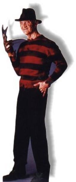 Life Size Freddy Krueger Standee