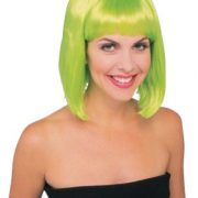 Lime Green Starlet Wig