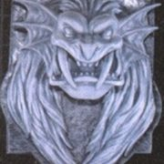 Lion Head Plaque Halloween Prop