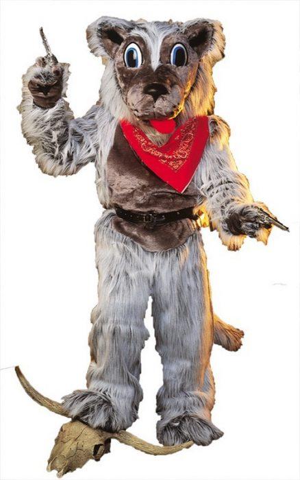 Lobo Wolf Mascot Costume
