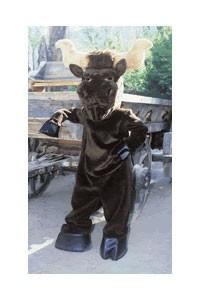 Longhorn Cow Mascot Costume
