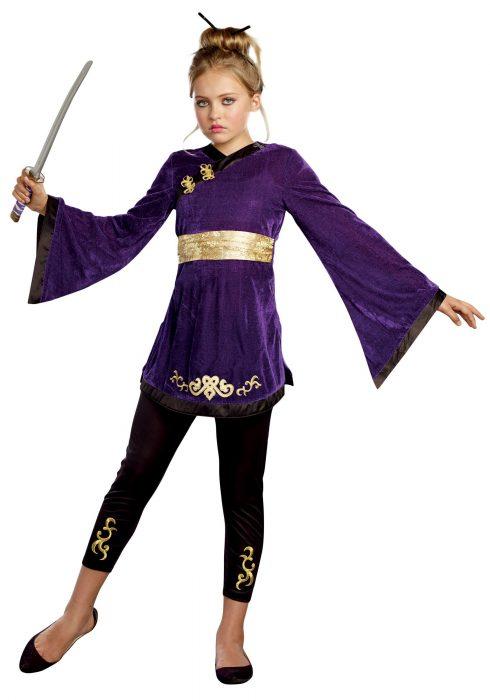 Lotus Warrior Tween Ninja Costume