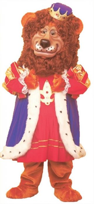 Louie Lion Mascot Costume