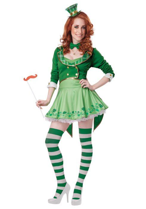 Lucky Charm Women's Leprechaun Costume