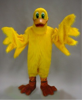 Lucky Duck Mascot Costume