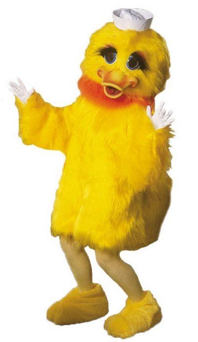 Lucky Ducky Mascot Costume