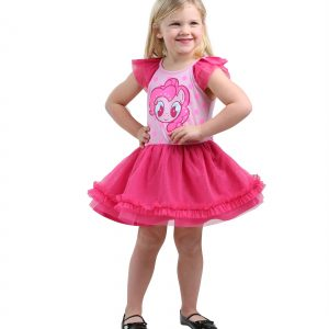 MLP Girls Pinkie Pie Tulle Costume Dress
