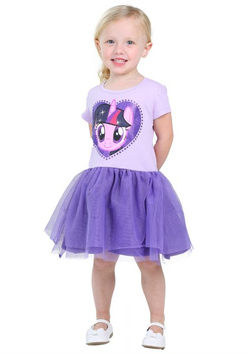 MLP Twilight Sparkle Tulle Girls Costume Dress