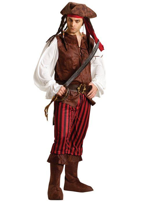 Male Caribbean Pirate Costume