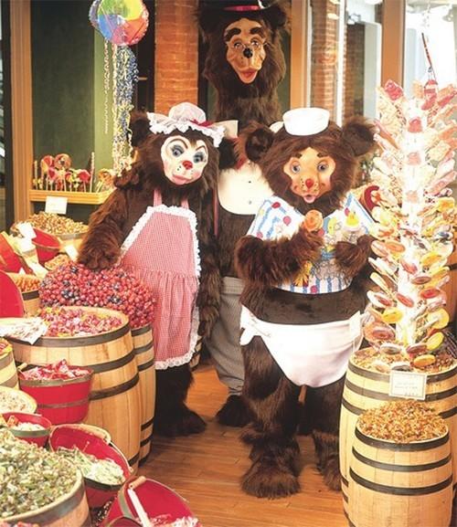 Mama Bear Mascot Costume