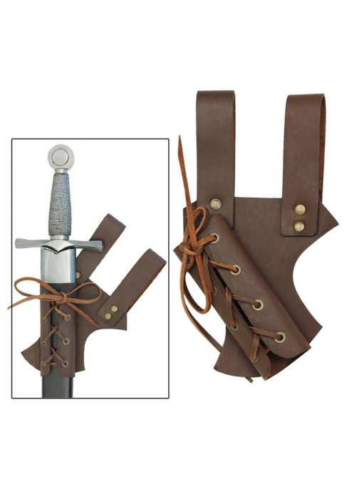 Medieval Leather Sword Sheath