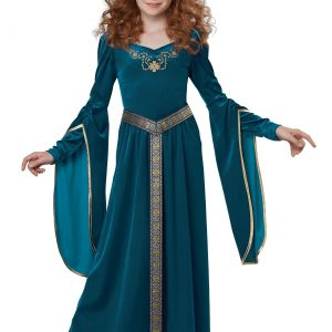 Medieval Princess Girls Costume