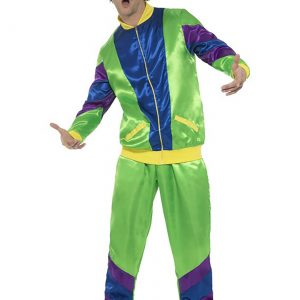 Men's 80s Tracksuit Costume
