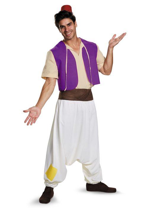 Men's Aladdin Costume