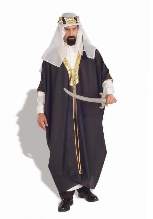 Mens Arabian Chieftain Costume