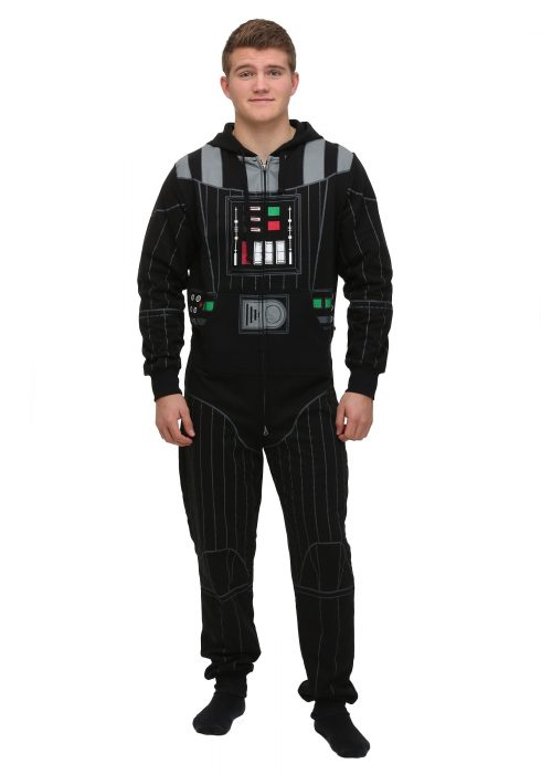 Men's Black Darth Vader Jumpsuit