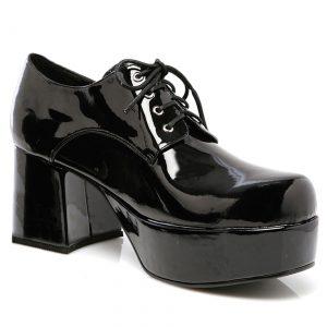 Men's Black Pimp Shoes