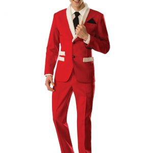Men's Christmas Santa Suit