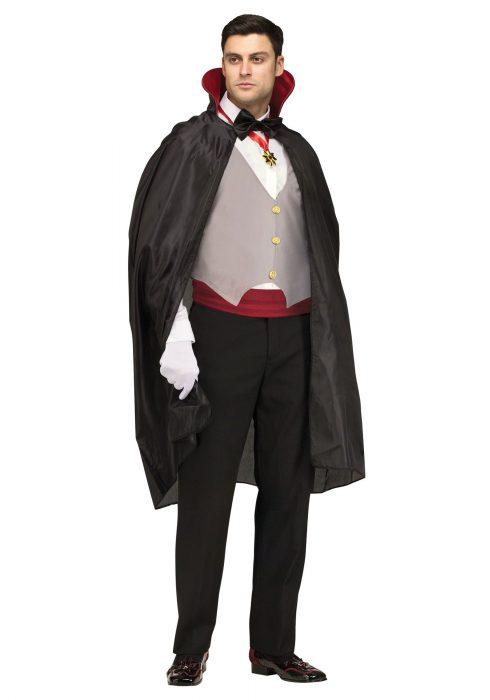 Men's Complete Vampire Costume