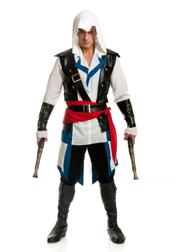 Men's Deadly Pirate Costume