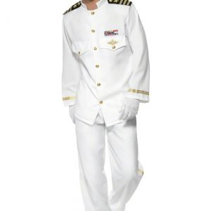 Mens Deluxe Captain Costume