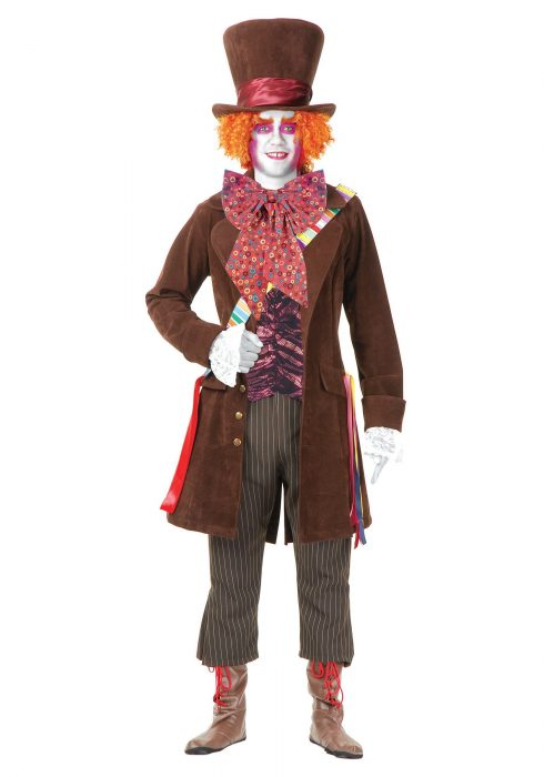 Men's Deluxe Mad Hatter Costume