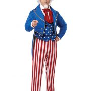 Mens Deluxe Uncle Sam Costume