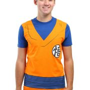 Mens Dragonball Z Goku Costume T-Shirt
