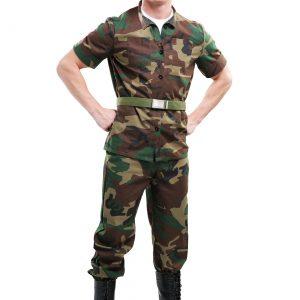 Men's Drill Sergeant Costume