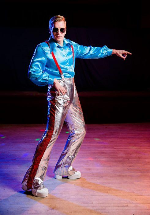 Men's Funky Disco Plus Size Costume