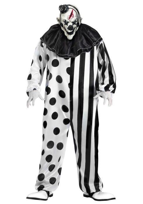 Men's Killer Clown Costume